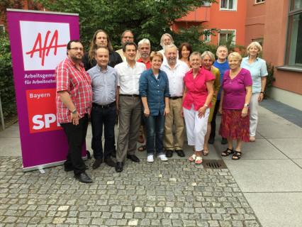 der neue AfA-Landesvorstand Bayern